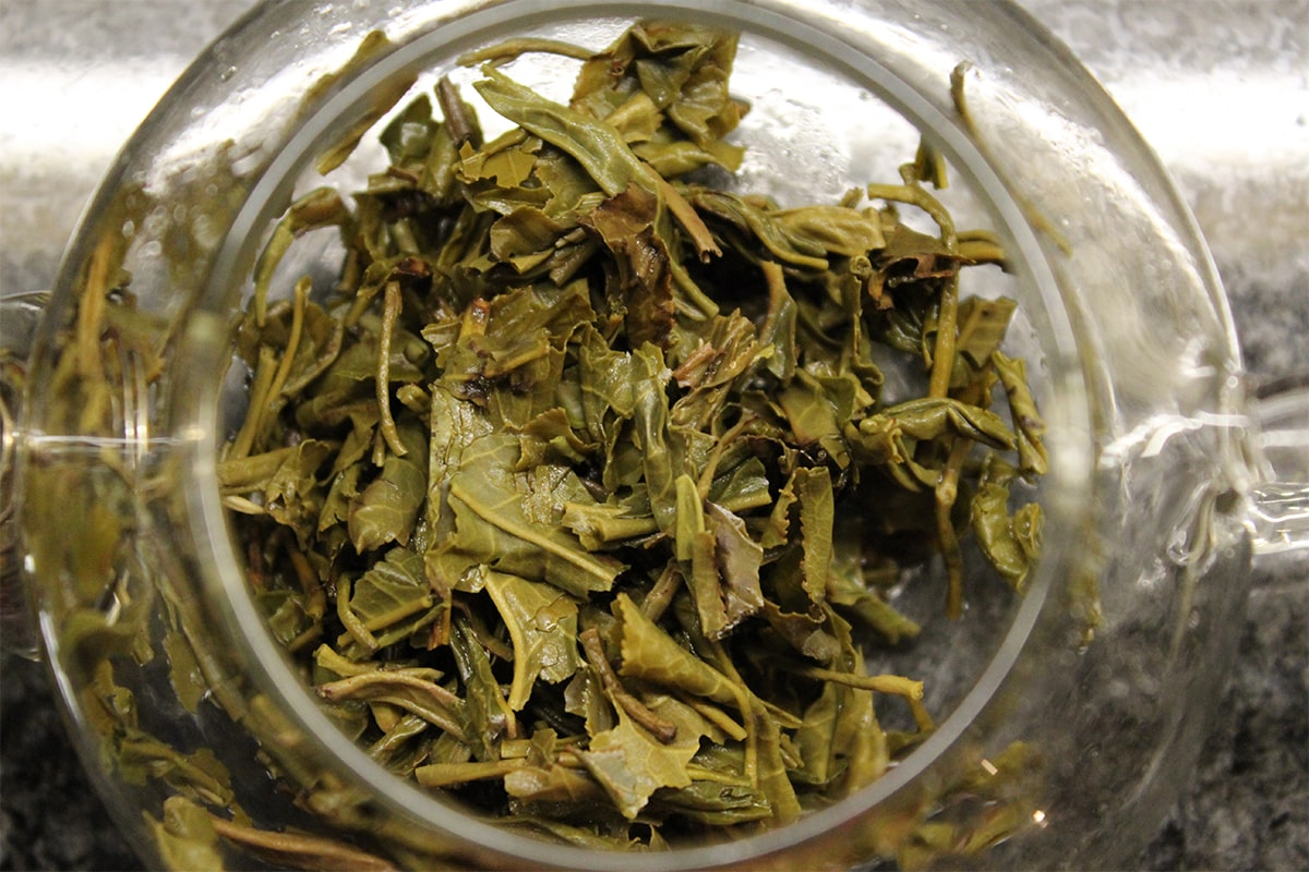 Dew drop jasmine Mei leaf Tea Adventures