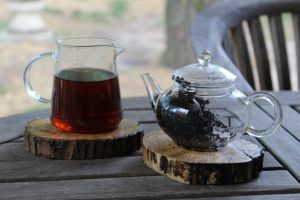 stuffed citrus shou puerh the tea guru