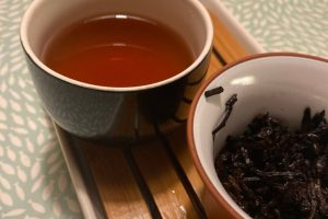 Wild orange shou puerh Teasenz Tea Adventures