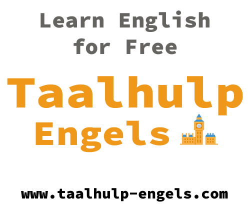 Taalhulp Engels banner English
